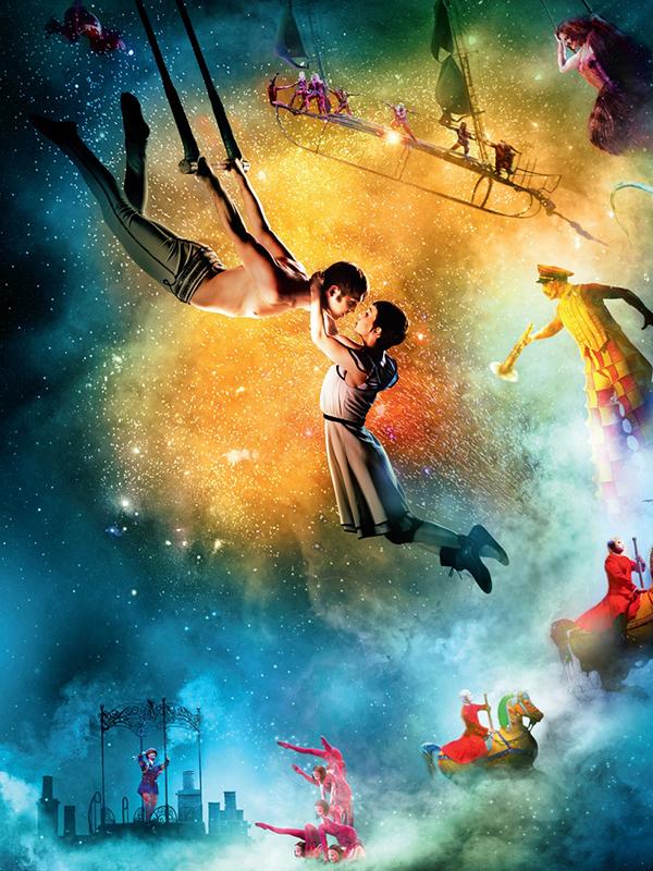télécharger Cirque du Soleil 3D : le voyage imaginaire (Pathé Live)
